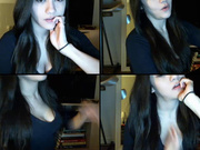 Beryl18 reaching her climax in webcam show 2017-04-27 153255