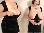 Maria 38h and Jerilee swaying their huge boobs