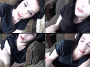 Evelynclaire cum watch me fuck herself so hard that i squirt in webcam show 2017 Oct 12_024056