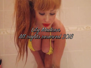 LilyMadison shower1