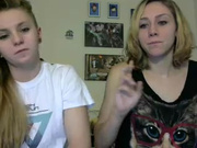 Thosearesomeseriousnipples hot lesbo couple in webcam show 2016-07-07 150758
